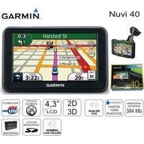 Gps Garmin Nuvi 40 4.3 Polegadas Touchscreen Pr10