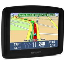 Navegador Gps Tomtom Xl335 Tela 4.3 Tts Touch Avisa Radar