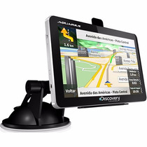 Gps Automotivo Aquarius Discovery Channel 4.3 - Novo
