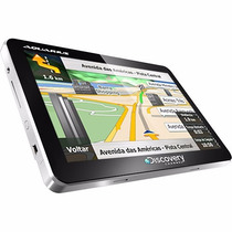 Gps Automotivo Aquarius Discovery Channel 4.3 Slim Touch Mp3