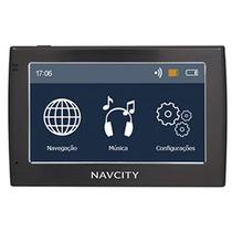 Gps Navcity Way 40 Com Mp3 E Transmissor Fm