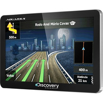 Gps Automotivo Discovery Channel 4,3 Slim Touch Screen