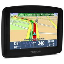 Gps Tomtom Xl Tela 4.3 Touch Avisa Radar Usb Brasil Novo