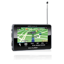 Navegador Gps Tracker Iii Tela 4.3 Preto Tv Digital - Gp03