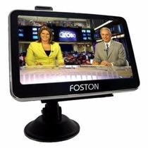 Gps Foston Fs-473 Tela 4,3 3d Tv Digital Camera De Re