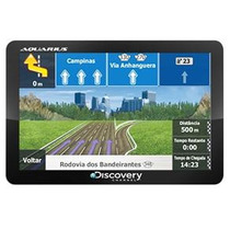 Gps Automotivo Discovery Channel Mtc 2420 4.3