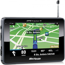 Gps Automotivo Camera Ré Tela 7 Multilaser Tracker Tv Novo !