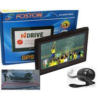 Gps Automotivo Foston 473 Com Tv, Camera Ré (frete Grátis)