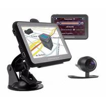 Gps 4,3´´ Câmera De Ré, Mapas 3d, Navegador Igo, Memória 4g
