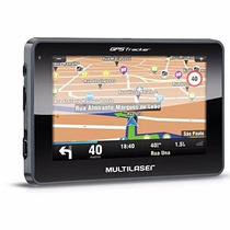 Gps Automotivo Multilaser Tracker 3 Tela 4 Mapa 3d 2gb Gp033