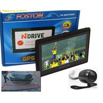 Gps Foston Fs-3d473dc 4.3 Com Camera De Ré E Tv Digital