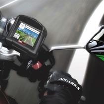 Gps Moto Aquarius Duas Rodas Mtc3140 Com Tela De 3,5 Touch