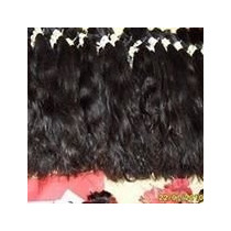 Cabelos Humanos Natural\mega Hair Ondulado 50 Cm 50 Gr