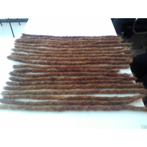 Dreads Loiro 20 Unidades De 40/55cm De Cabelo Humano Natural
