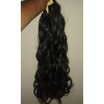 Cabelo Natural P/mega Hair Leve Ondas 60 Cm 150 Gramas