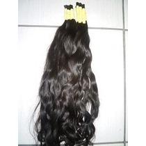 Cabelo Natural P/mega Hair Leve Ondas 60 Cm 50 Gramas