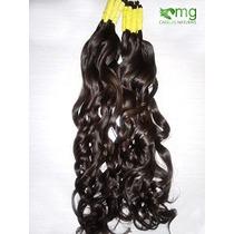 Cabelo Humano Natural P/mega Hair Leve Ondas 70 Cm 200 Grama