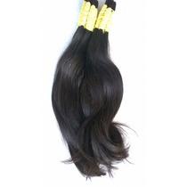 Cabelo Humano P/ Mega Hair Liso Ondulado De 30 A 35 Cm 50gr.