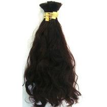 Cabelo Mega Hair Levemente Ondulado 50 Cm 50 Gramas.
