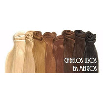 Cabelo Natural Humano Russo 60 Cm(tecido Para Mega Hair)