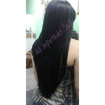 Mega Hair Aplique Tic Tac Preto Tela Completa 130 G 60 Cm