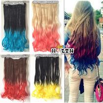 Alongamento Fibra Japonesa Californiana Ombré Hair 60cm Cor