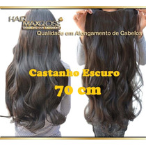Alongamento Aplique Mega Hair Tic Tac Cabelo Loiro Sintetico