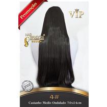 Alongamento Aplique Mega Hair Tic Tac Cabelo Sintetico