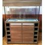 Aquário De 200 Litros - 100x40x50 - Móvel Porta Vinho