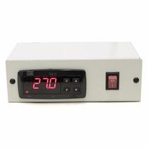 Termostato Digital Tlz11 Para Aquários + Caixa Metálica