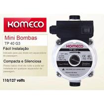 Mini Bomba Pressurizador P/ Agua Komeco Tp40 127v + Barato