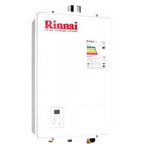 Aquecedor De Água Á Gás 18 Litros Rinnai Reu-1302feh Digital
