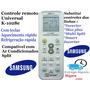 Controle Universal Ar-condicionado Split Samsung