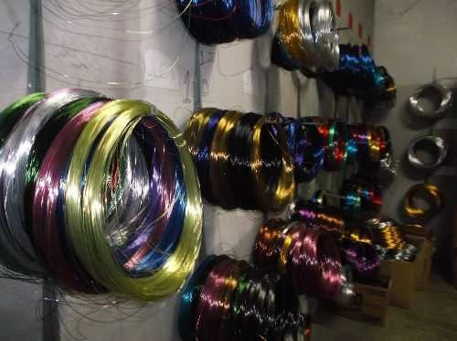 Aparador Vidro Preto ~ Arame De Aluminio Colorido Por Quilo, Varias Cores E