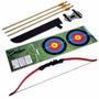 Arco E Flecha Recurvo De 18 Libras Kantas - Re-001 Vermelho