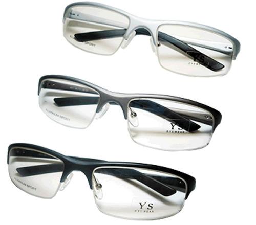 Armação Para Óculos De Grau Em Alumínio Antialérgica