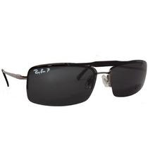Armação Óculos Grau Ray Ban 8569 Prata Dourado Clip Solar