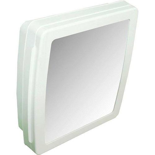 Armário Para Banheiro C Espelho Herc 34x37x10 2650 Branco  R$ 34,90 no Me -> Armario Para Banheiro De Pvc Mercadolivre