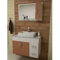 Gabinete / Armário Para Banheiro Veneza 80