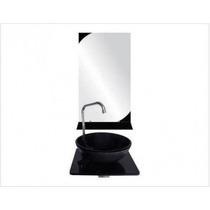 Gabinete De Vidro Banheiro 36 Cm