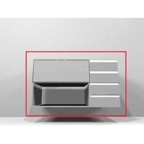 Gabinete Dell Anno - Porta Basculante Em Vidro Jateado
