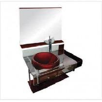 Gabinete De Vidro 90 Cm Banheiro