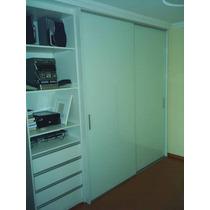 Porta Para Armario Planejado,aluminio E Mdf Branco 250x300mm
