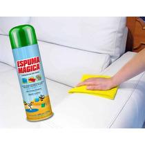 Limpa Sofa Tecido Suede Tira Mancha Spray 400ml O Melhor!