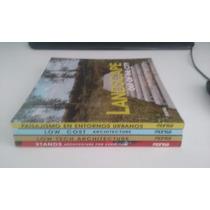 Lote Com Quatro Livros De Arquitetura - Monsa