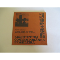 Livro- Arquitetura Contemporânea Brasiliera- Daniel Chazan