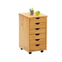 Gaveteiro Pinus Nils Natural / Escritório / Wood Prime