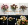 Kit 6 Flores Artificiais Crisântemo Pronto Entregam -qx