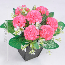 Arranjo Crisantemo 20 Cm Diversas Cores - Flores Artificiais