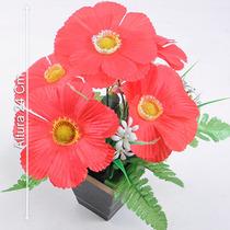 Arranjo Poppy 24 Cm Cores Diversas - Flores Artificiais